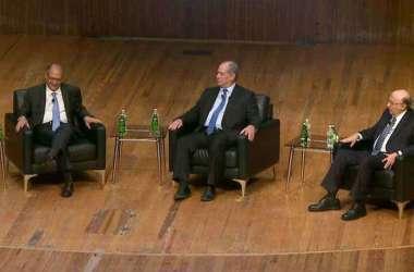 Ex-candidatos à Presidência do Brasil em debate na Brazil Conference 2019(foto: Reprodução da internet/Youtube)
