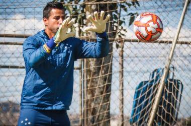 Fábio está confiante em virada do time a partir de desafio no domingo, no Horto Foto: Vinnicius Silva/Cruzeiro