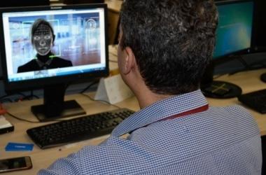 Dirceu Aurélio/Seap/Divulgação / Sistema de reconhecimento facial foi desenvolvido para aumentar segurança