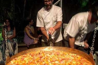 Américo Piacenza é um dos participantes do evento e fará comida na panela Francisca Foto: Arquivo pessoal