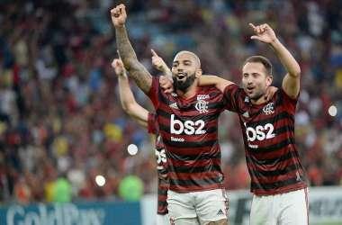 Gabigol deixa a marca no segundo tempo e garante o Fla na final (Foto: Alexandre Vidal/Flamengo)