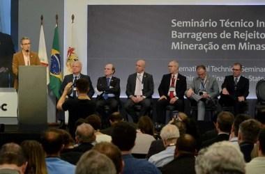 No seminário, o governador também devendeu a diversificação e dinamização da economia do Estado /Gil Leonardi/Imprensa MG