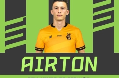 Divulgação/América / No América, Airton vai disputar posição com o experiente Fernando Leal, e com os jovens Glauco, Jori e Elzo