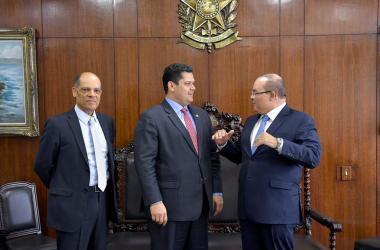 Governador do Distrito Federal, Ibaneis Rocha Foto: Marcos Brandão/Senado Federal