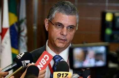 O secretário Gustavo Barbosa disse que a proposta de MG está sendo finalizada(foto: Gil Leonardi/Imprensa MG )