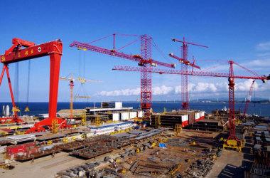 Projeto para construção de navios de guerra vai gerar 6 mil empregos em Itajaí