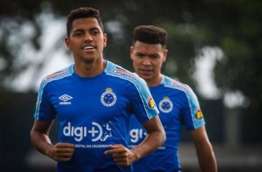 Pedro Rocha pode ser opção contra o Atlético Foto: Vinnicius Silva /O Tempo