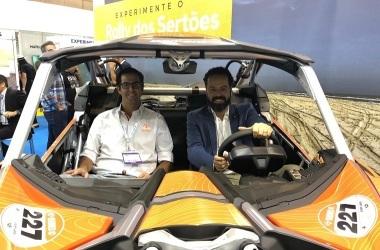 Secretário-executivo do MTur, Daniel Nepomuceno, e o CEO do Rally, Joaquim Monteiro. Foto: Vagner Vargas/MTur