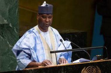 Nigeriano é o novo presidente da Assembleia Geral da ONU