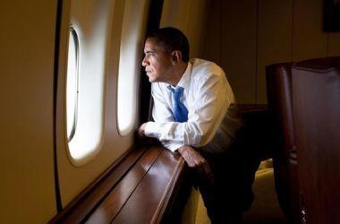 Direito de imagemGETTY IMAGESI / Barack Obama sobrevoando Cuba