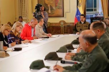 © Miraflores Palace/Handout via REUTERS