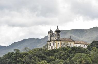 Igreja S. Francisco de Paula em Ouro Preto. Crédito: Pedro Vilela/Banco de Imagens MTur Destinos