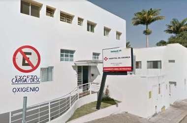 O menino foi levado até o Hospital da Criança, em Uberaba(foto: Google Street View/ reprodução)