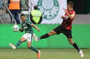 Resultado leva o Palmeiras aos 19 pontos, quatro à frente do vice-líder Atlético (Foto: Cesar Greco/Palmeiras)