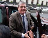 Presidente do Peru, Alan García, é investigado em processo que envolve a Odebrecht / Foto: ERNESTO BENAVIDES / AFP