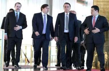 Presidentes de poderes tiveram reunião em maio para tratar de pacto. Foto: Marcos Corrêa/Presidência da República