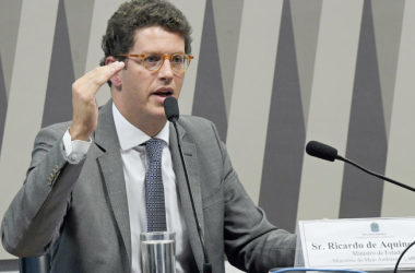 Ministro do Meio Ambiente etm sido criticado por ambientalistas por suas posições sobre mudanças climáticas / Agência Senado