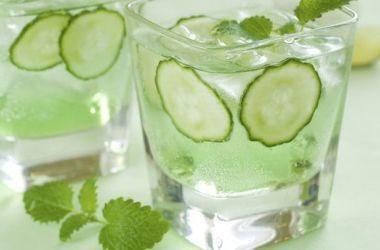 Água com pepino para saúde e para emagrecer