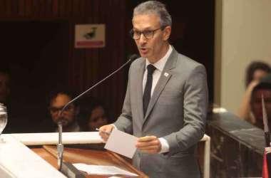 Os deputados querem tratar até do salário de Romeu Zema na reforma(foto: Jair Amaral / EM / D.A. Press)