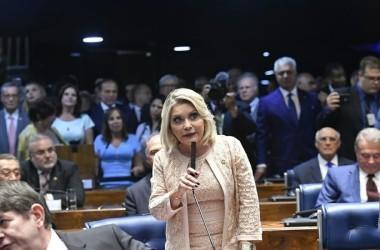 Selma Arruda (PSL) teve o mandato cassado. Foto: Geraldo Magela/Agência Senado