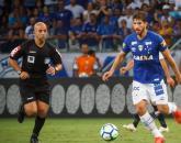 Jean Pierre no Mineirão em jogo do Cruzeiro contra o Corinthians Foto: Vinnicius Silva/Cruzeiro