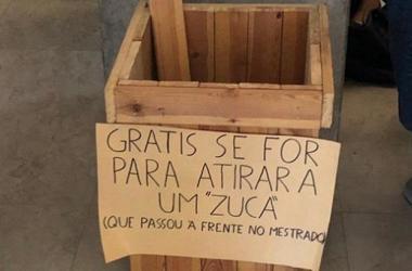 Em nota, o Núcleo de Estudo Luso-Brasileiro afirmou que a diretoria se dispôs a remover o material xenófobo / Foto: Cortesia