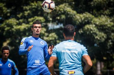 Lateral aprimora o físico na Toca 2 / Foto: Vinnícius Silva/CruzeiroFoto: Vinnicius Silva/Cruzeiro