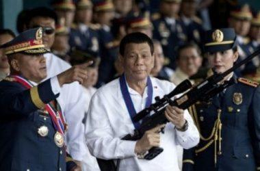 Rodrigo Duterte. Foto: AFP