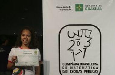 Olimpíada Brasileira de Matemática das Escolas Públicas confere premiação a estudantes (Arquivo/Elza Fiuza/Agência Brasil)