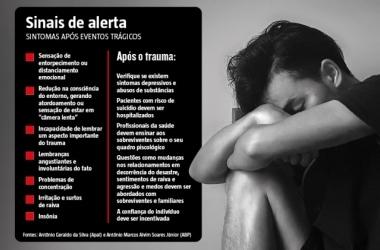Tragédias expõem vítimas a distúrbios psicológicos que exigem atenção
