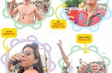 Fama da folia de BH atrai turistas que já prometem voltar no ano que vem