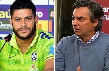 "Hulk se irrita com Mainardi: ""respeite o Nordeste!"""