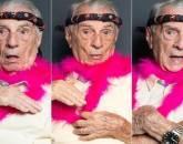Aos 99 anos, Orlando Drummond, o Seu Peru, reaparece na Escolinha e cria perfil no Instagram