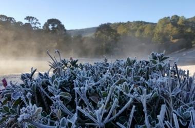 Cidade do Sul de Minas costuma bater recordes de temperaturas negativas no Estado / Nelson Pacheco/Divulgação