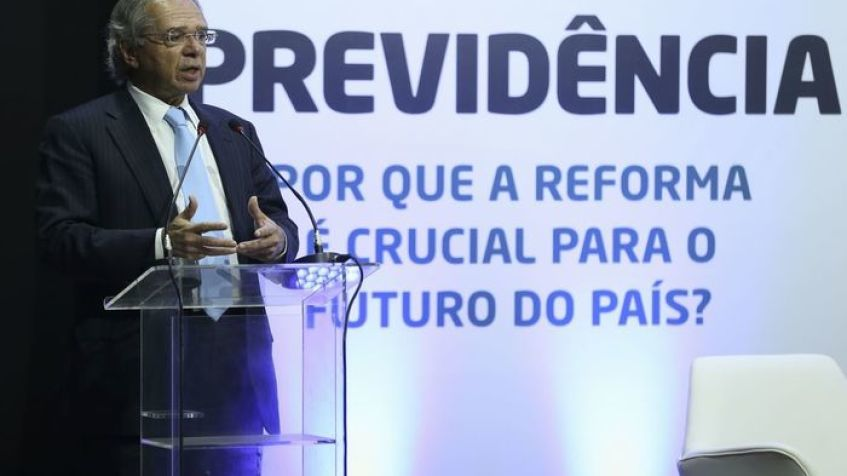 Guedes diz acreditar em implementação da reforma com a desejada potência fiscal