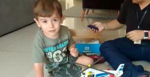 RecordTV Minas realiza sonho de criança de voar de helicóptero