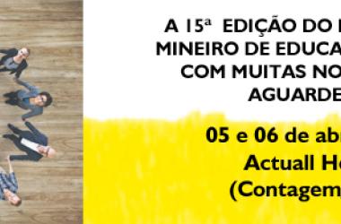Garanta sua vaga no XV Encontro Mineiro de Educação