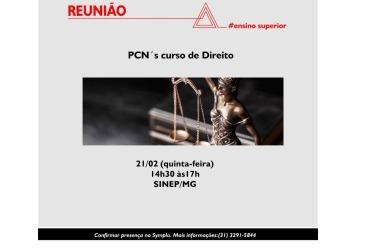 21/02: Reunião da Câmara de Ensino Superior aborda PCN's do curso de Direito