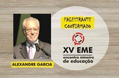 Presença confirmada no XV EME: Alexandre Garcia