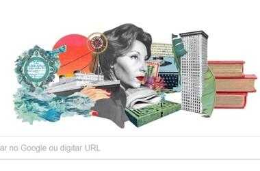 Clarice Lispector é homenageada por Google