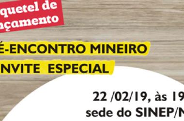 """22/02: Participe do """"esquenta"""" para o XV Encontro Mineiro de Educação com palestra, sorteios e coquetel de lançamento"""