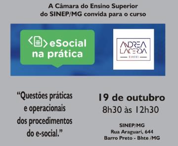 QUESTÕES PRÁTICAS E OPERACIONAIS DOS PROCEDIMENTOS DO E-SOCIAL