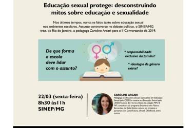 22/03: Ideologia de gênero existe? Como a escola deve tratar a educação sexual? Inscreva-se em evento do SINEP/MG