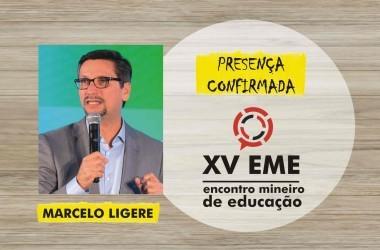 Presença confirmada no XV EME: Marcelo Ligere