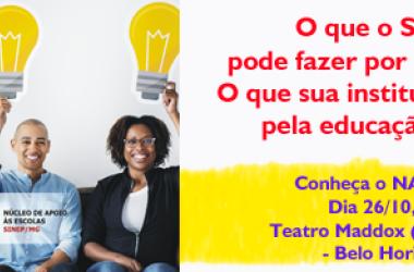 O que o SINEP/MG e sua instituição podem fazer pela educação brasileira?