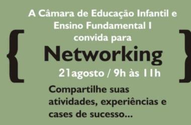 Câmara de Educação Infantil vai tratar de Networking no SINEP/MG