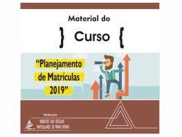 PLANEJAMENTO DE MATRÍCULA - 2019