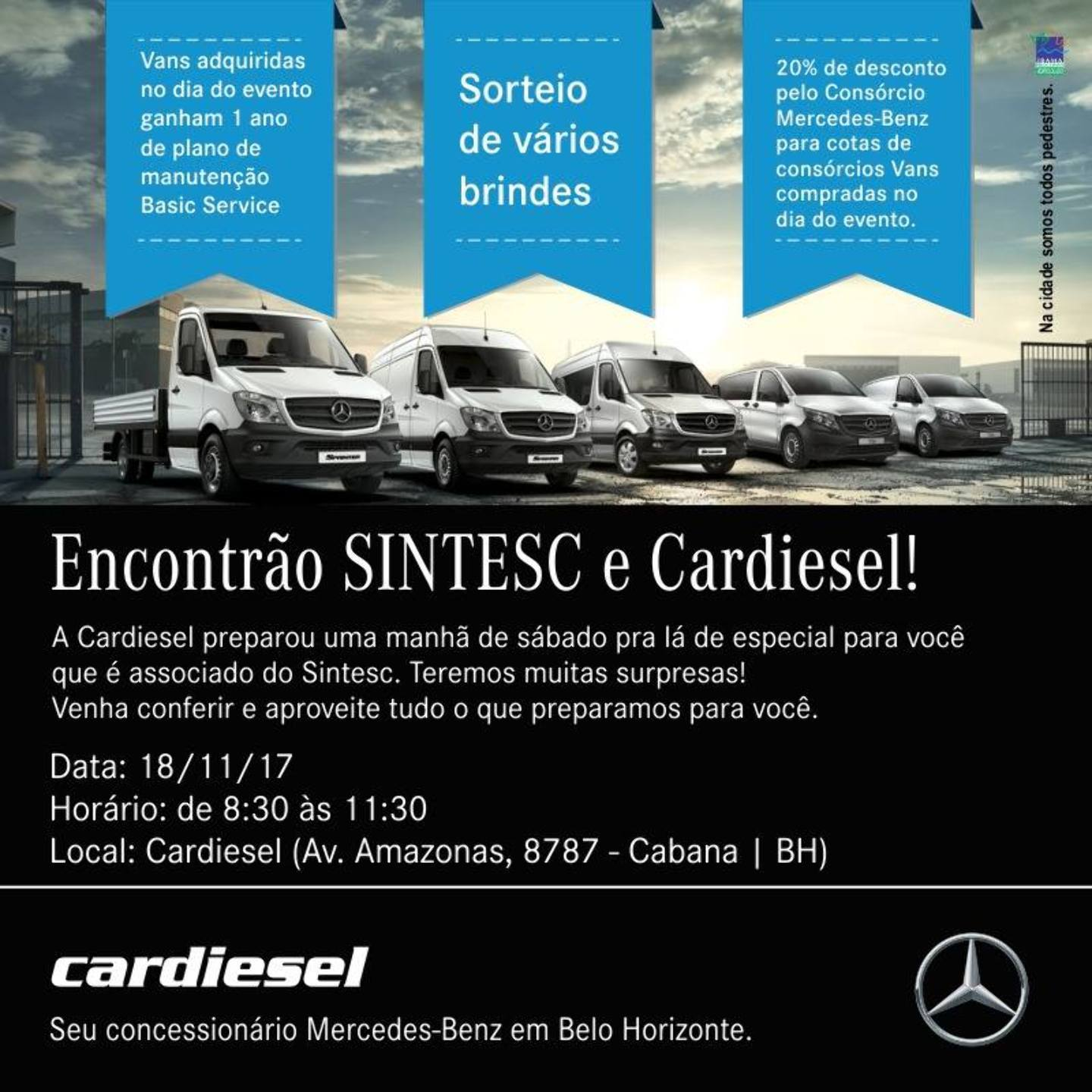 Evento na Cardiesel