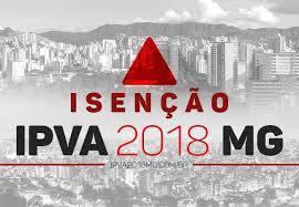 Isenção de IPVA 2018